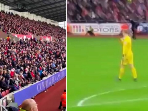 Stoke City fans troll Manchester City's Joe Hart with 'dandruff' chant