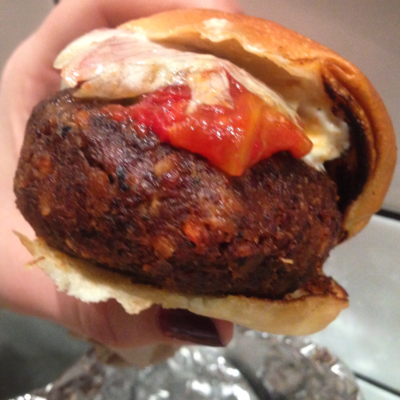A good shot of the Superiority Burger (Picture: Deni Kirkova)