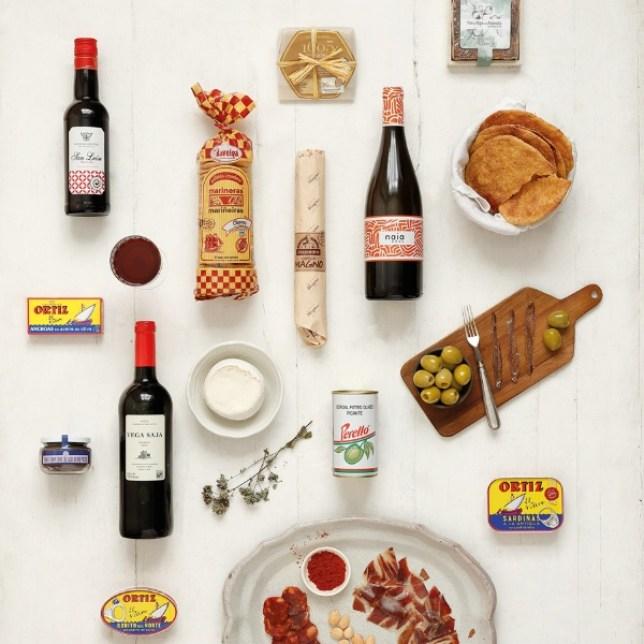 The Gastronome's Box, £100, Brindisa (Picture: Brindisa)