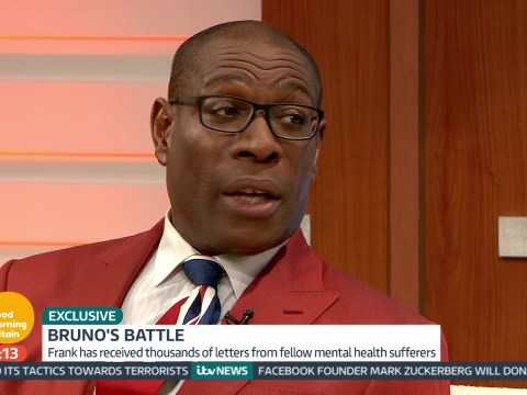 Frank Bruno has this important message for David Cameron about mental health services