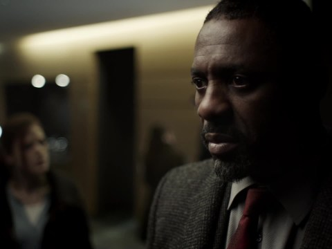 A Star Wars reference made it into the final episode of Luther and it was just perfect