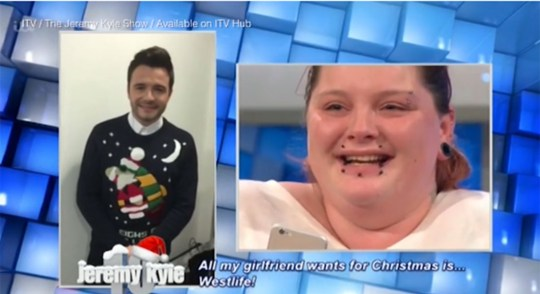 The Jeremy Kyle Show: Westlife fan would rather have Shane