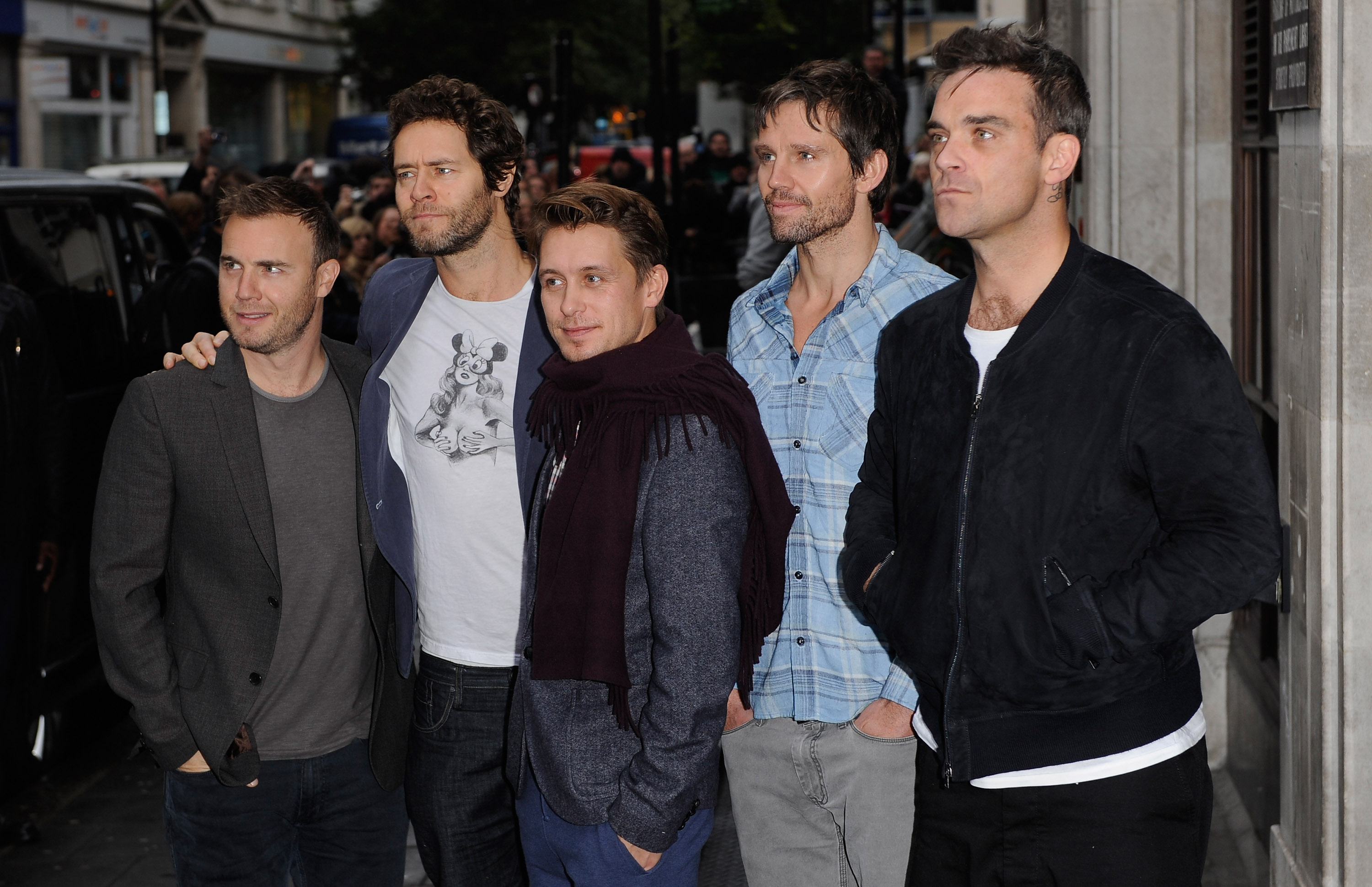 Will Robbie Williams and Jason Orange reunite with Take That for 25th anniversary plans?