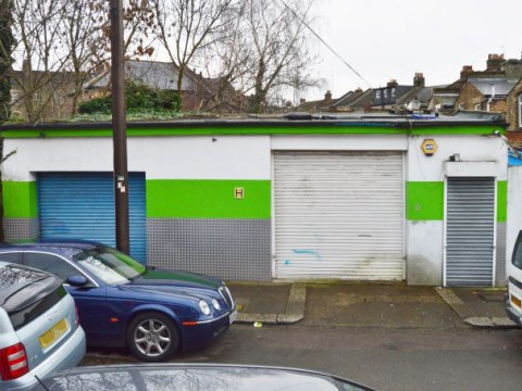 You can buy this Tottenham garage for just £150,000