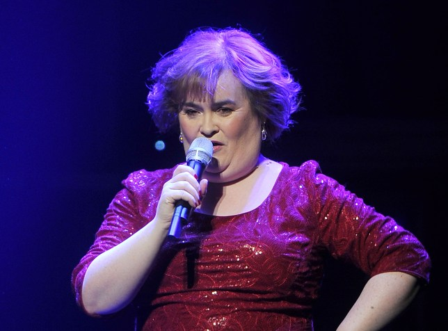 Sassy: Susan Boyle is a bit of a character (Picture: Getty Images)