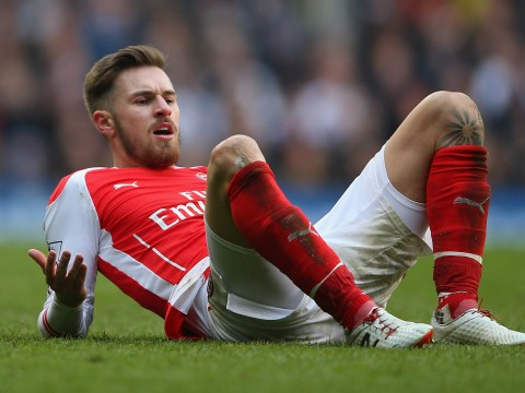 How much would Barcelona have to pay to complete a transfer deal for Arsenal's Aaron Ramsey?