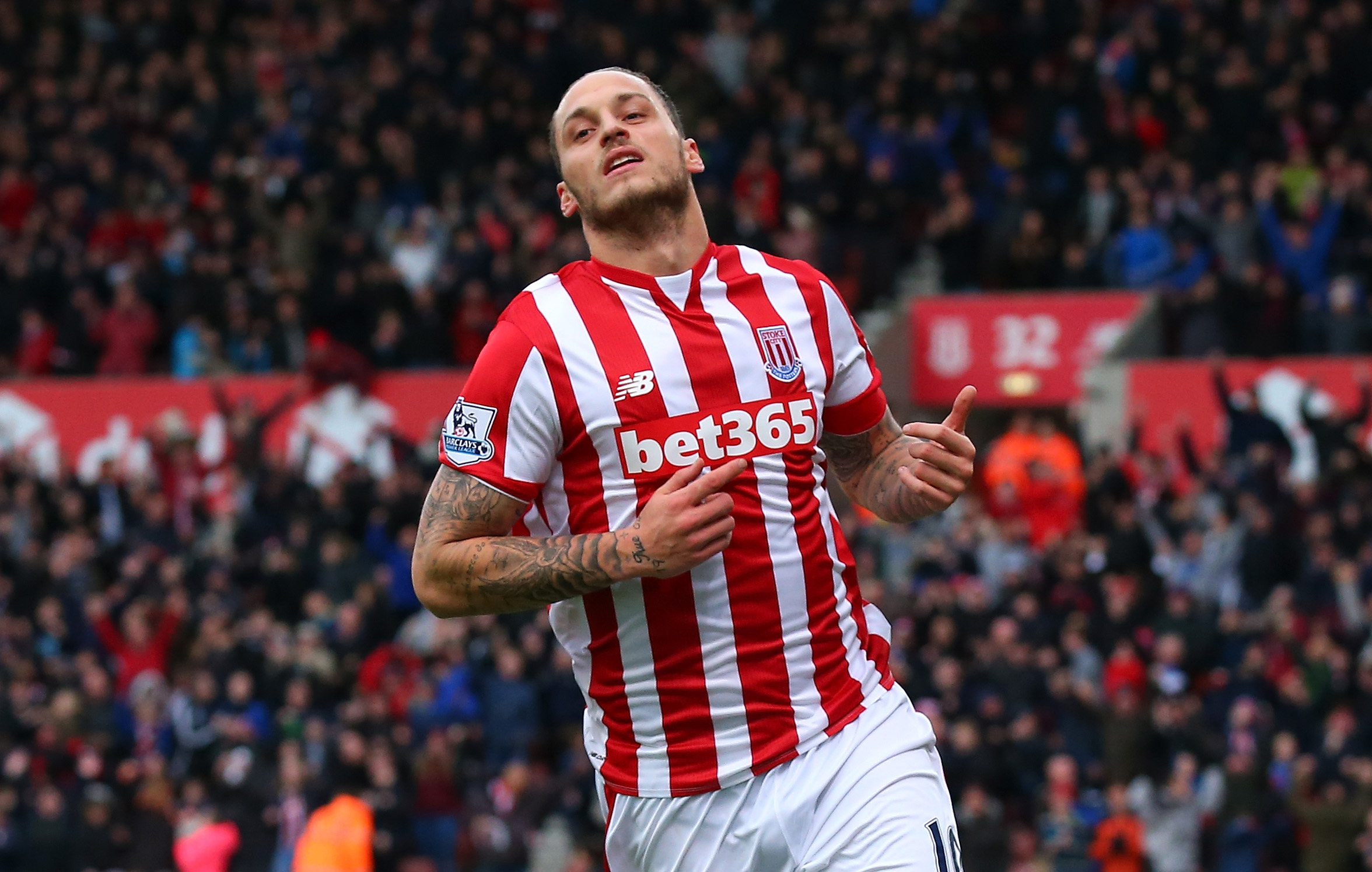 Marko Arnautovic Stoke City form earns Paris Saint-Germain transfer interest – report