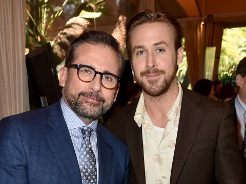 The Big Short's Steve Carell gives 'dreamy' Ryan Gosling parenting advice