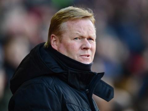 Southampton's Ronald Koeman wants Chelsea boss to back him for top job