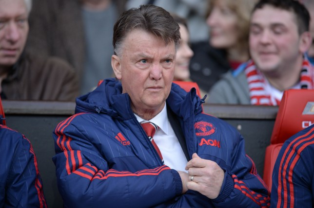 Manchester United's Dutch manager Louis van Gaal sits in the dug out ahead of the English Premier League football match between Manchester United and Southampton at Old Trafford in Manchester, north west England, on January 23, 2016. AFP PHOTO / OLI SCARFF RESTRICTED TO EDITORIAL USE. No use with unauthorized audio, video, data, fixture lists, club/league logos or 'live' services. Online in-match use limited to 75 images, no video emulation. No use in betting, games or single club/league/player publications. / AFP / OLI SCARFF (Photo credit should read OLI SCARFF/AFP/Getty Images)