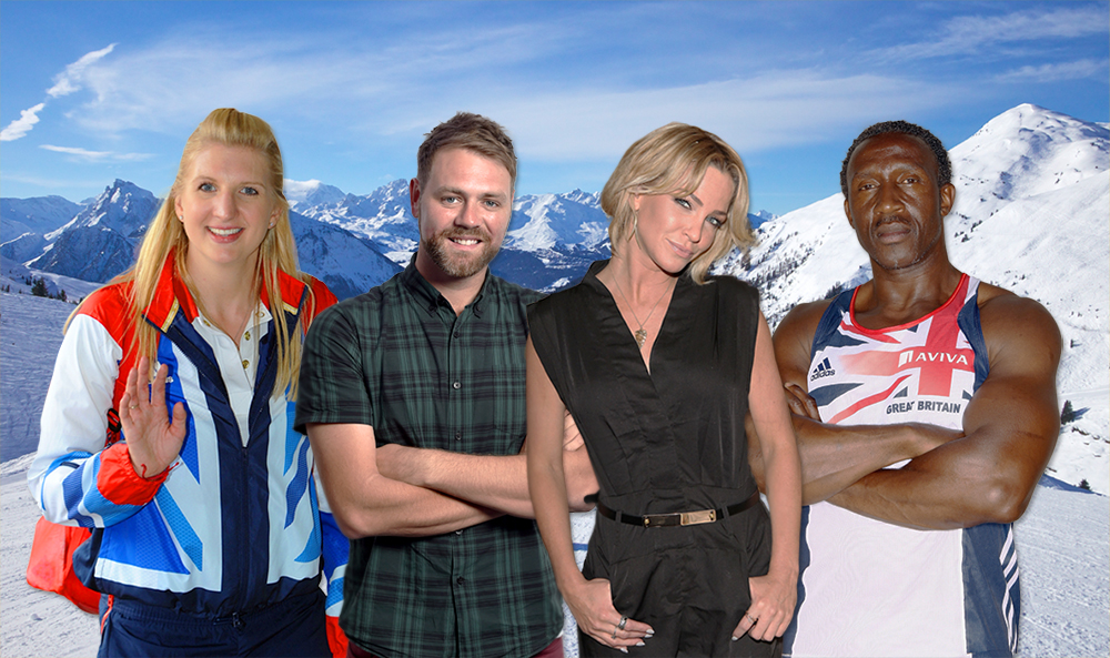 From Brian McFadden to Linford Christie, this is the 'confirmed' lineup for The Jump 2016