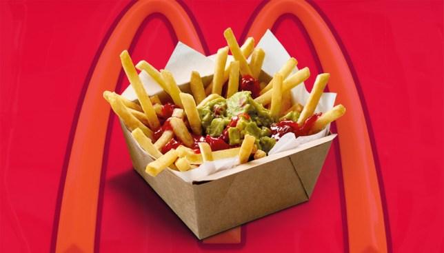 McDonalds guacamole fries Credit: McDonalds/Getty Images