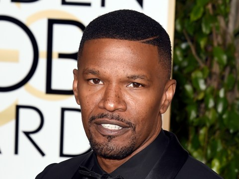 Jamie Foxx reportedly rescued a man from a burning car and it wasn't in a movie