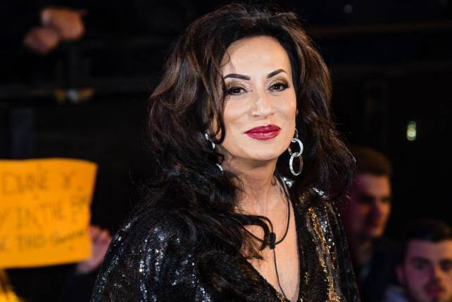 BOREHAMWOOD, ENGLAND - JANUARY 05: Nancy Dell'Olio enters the Celebrity Big Brother House at Elstree Studios on January 5, 2016 in Borehamwood, England. (Photo by Jeff Spicer/Getty Images)