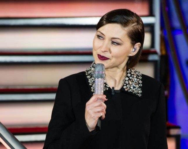 BOREHAMWOOD, ENGLAND - JANUARY 05: Emma Willis presents Celebrity Big Brother House at Elstree Studios on January 5, 2016 in Borehamwood, England. (Photo by Jeff Spicer/Getty Images)