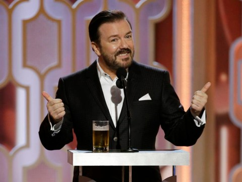 Ricky Gervais has encouraged Chris Rock to 'do some serious damage' when he hosts The Oscars