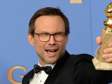 Christian Slater calls reporter a 'salacious c**t' after questions on abusive past