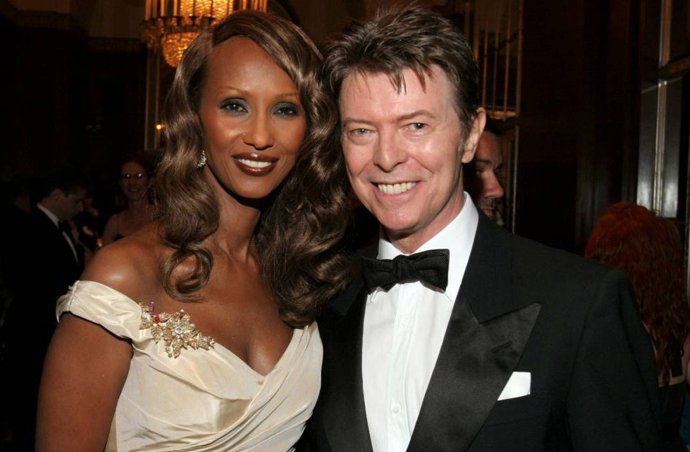 Iman and David Bowie The Elie Wiesel Foundation for Humanity Awards Dinner Honouring Oprah Winfrey, New York, America - 20 May 2007