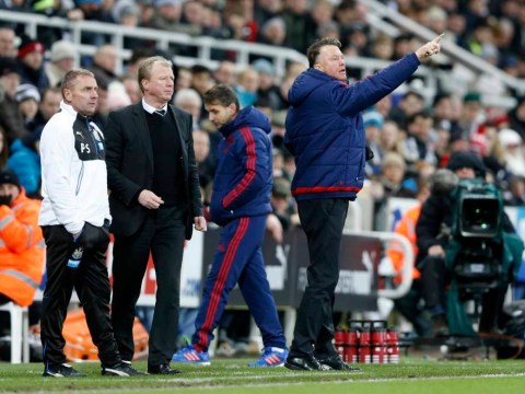 Newcastle United v Manchester United was so exciting that even Louis van Gaal left his seat