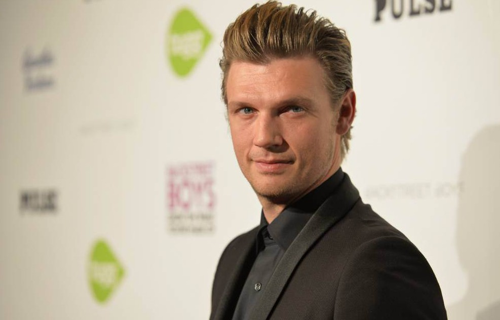 """FILE JANUARY 13, 2016: Nick Carter of the Backstreet Boys has been arrested in Key West, Florida. The story is still unfolding, however, it is being reported that Carters arrested was due to an altercation in a bar. HOLLYWOOD, CA - JANUARY 29: Singer Nick Carter attends the premiere of Gravitas Ventures' """"Backstreet Boys: Show 'Em What You're Made Of"""" at on January 29, 2015 in Hollywood, California. (Photo by Alberto E. Rodriguez/Getty Images)"""