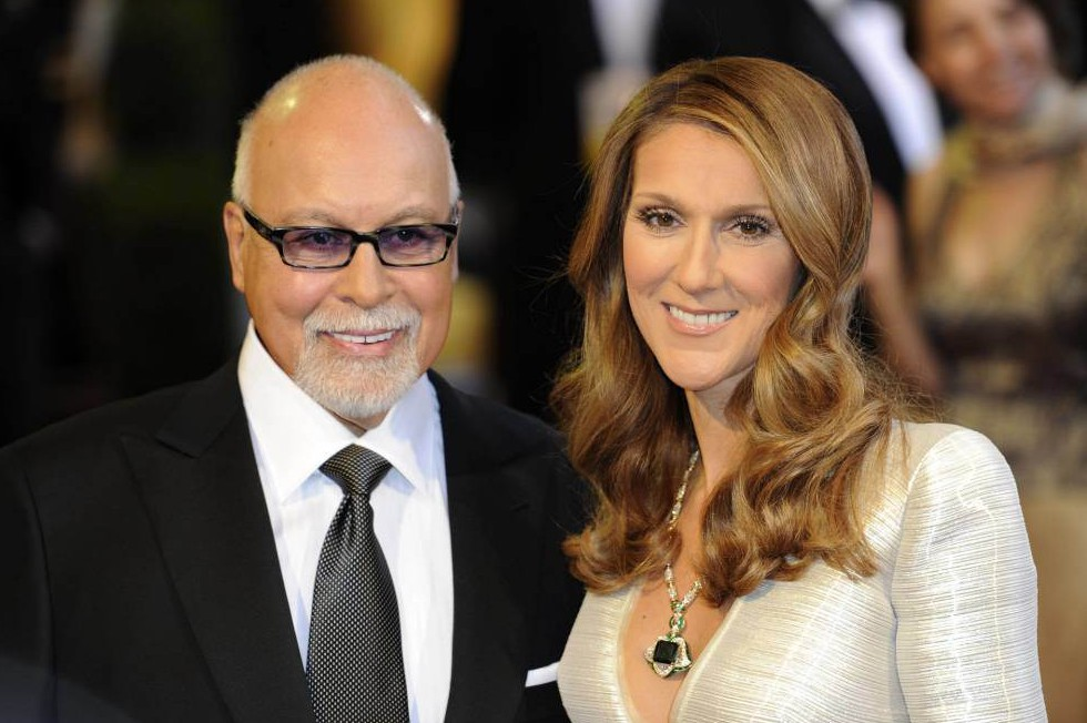 Mandatory Credit: Photo by KeystoneUSA-ZUMA/REX/Shutterstock (1289525e).. Celine Dion and husband Rene Angelil.. 83rd Annual Academy Awards, Arrivals, Los Angeles, America - 27 Feb 2011.. ..