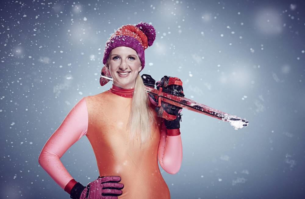 Undated handout file photo issued by Channel 4 of Rebecca Adlington, one of the contestants in this year's Channel 4 reality sport show, The Jump. PRESS ASSOCIATION Photo. Issue date: Saturday January 16, 2016. See PA story SHOWBIZ Jump. Photo credit should read: Ian Derry/Channel 4/PA Wire NOTE TO EDITORS: This handout photo may only be used in for editorial reporting purposes for the contemporaneous illustration of events, things or the people in the image or facts mentioned in the caption. Reuse of the picture may require further permission from the copyright holder.