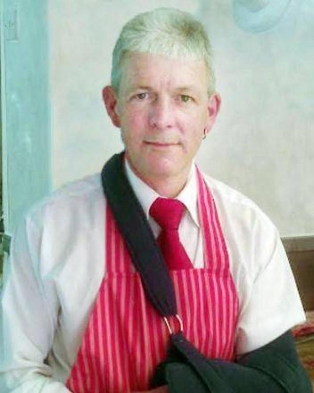Todmorden butcher Wayne Stansfield