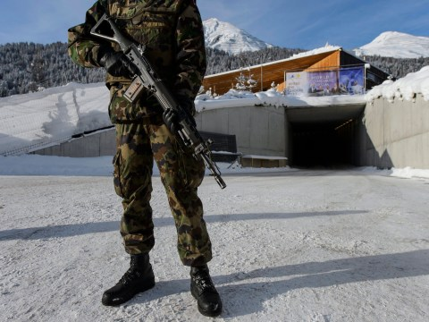 Swiss soldiers sent home from World Economic Forum for using cocaine