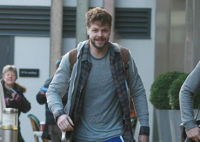 Mandatory Credit: Photo by Graham Stone/REX/Shutterstock (5549171v)  Jay McGuiness  Strictly Come Dancing Tour cast out and about, Birmingham, Britain - 19 Jan 2016