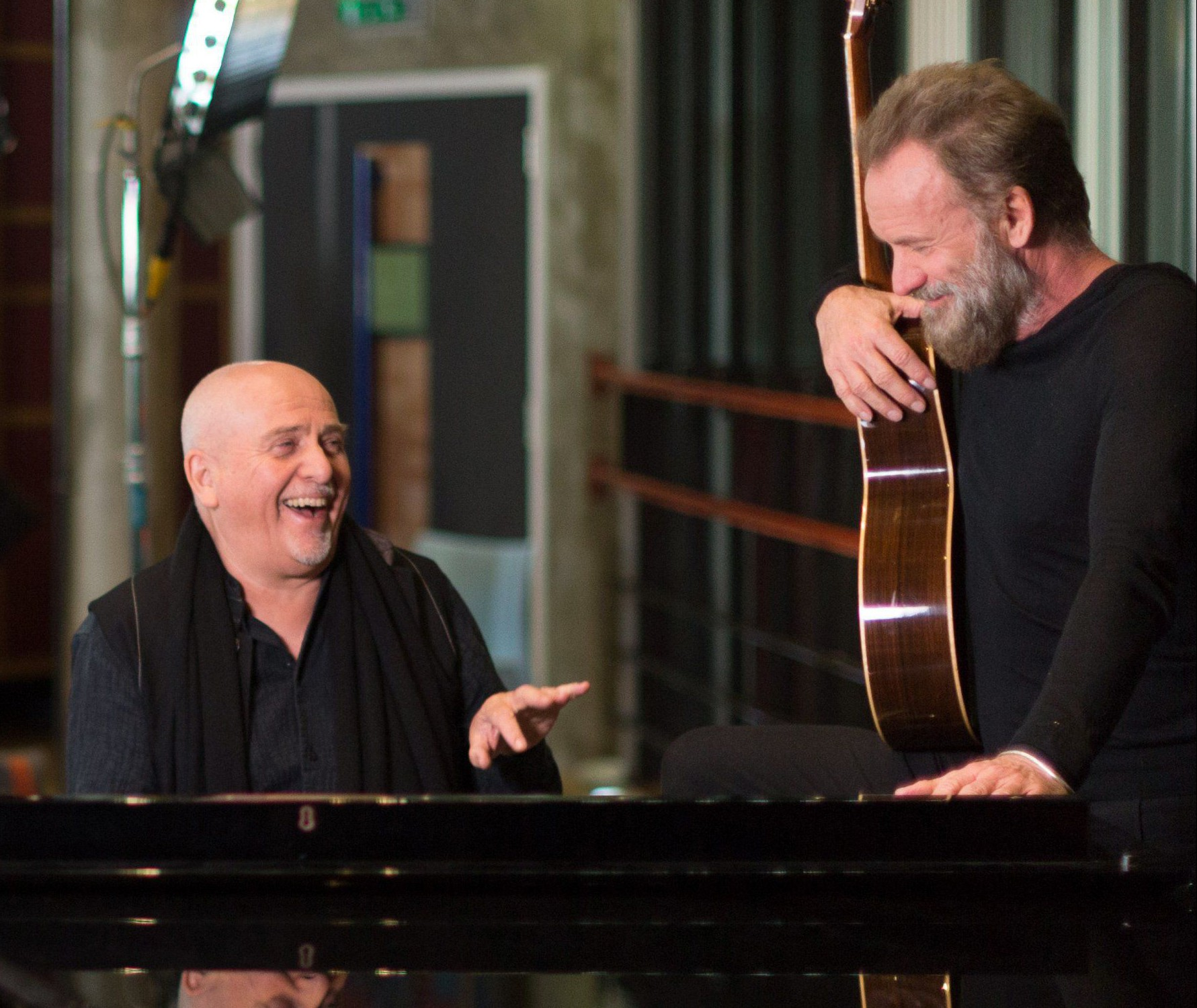 Sting and Peter Gabriel have just announced a joint tour