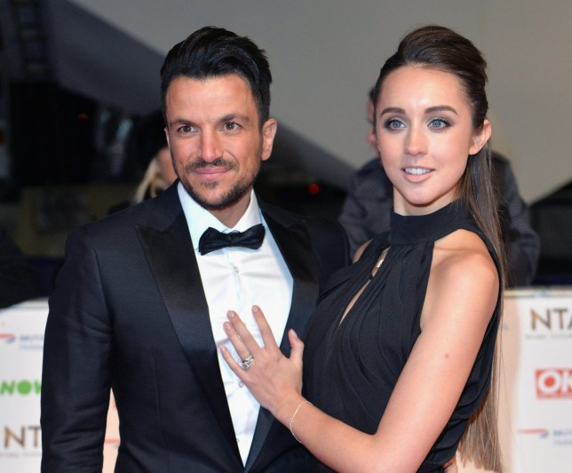 LONDON, ENGLAND - JANUARY 20: Peter Andre and Emily MacDonagh attend the 21st National Television Awards at The O2 Arena on January 20, 2016 in London, England. (Photo by Anthony Harvey/Getty Images)