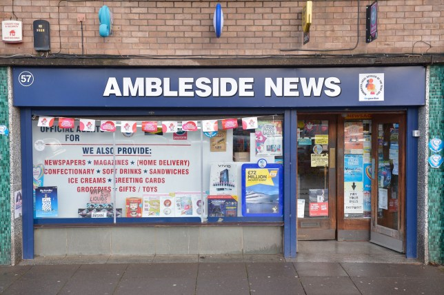 GV of Ambleside News in Worcester, where it is rumoured the winning ticket was purchased. A Lotto jackpot prize of £33,035,323 has yet to be claimed from a ticket bought by a lucky winner in the City of Worcester. The lucky ticket-holder only has until Thursday 7 July, 2016 to make their claim or the money will go into National Lottery projects.