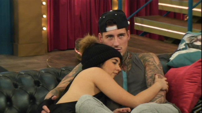 Stephanie Davis and Jeremy McConnell Celebrity Big Brother