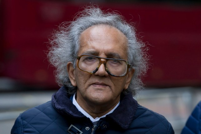 FILE PIC - Suspected Maoist cult leader, Aravindan Balakrishnan, arrives at Southwark Crown Court, London, where he is charged with false imprisonment and a sting of sexual offences. Balakrishnan is due to be sentenced today 29/1/16.