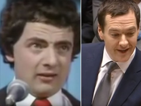 Is George Osborne taking his speeches straight from parodies of the Tories?