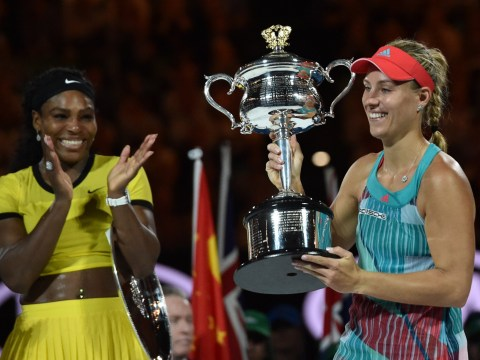 Pictures: Angelique Kerber wins Australian Open final 2016 beating Serena Williams