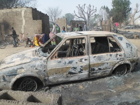 Child hid in tree listening to screams of Boko Haram burning other children in his village alive