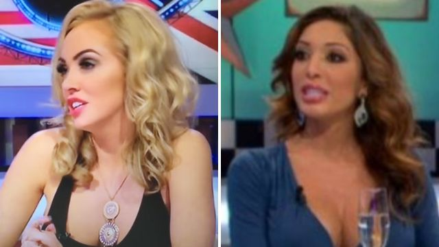 Aisleyne Horgan-Wallace is facing trial over 'champagne fight' with Farrah Abraham on CBB spin off show