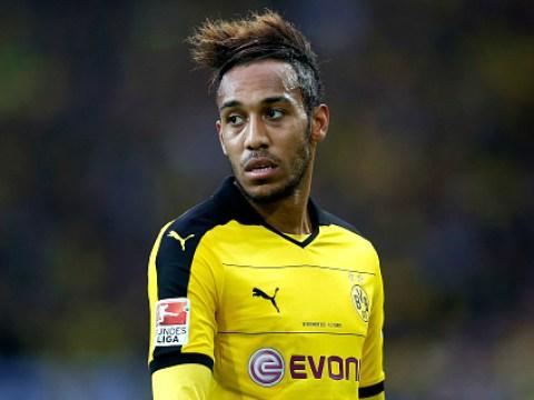 Borussia Dortmund refuse to rule out selling Arsenal transfer target Pierre-Emerick Aubameyang