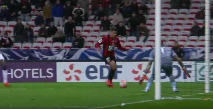 Hatem Ben Arfa breaks internet after nearly scoring best goal ever – video