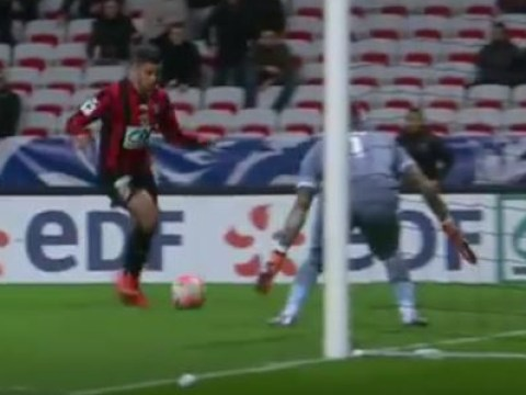 Hatem Ben Arfa breaks internet after nearly scoring best goal ever – video