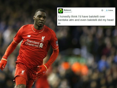 Liverpool fans say Christian Benteke is even worse than Mario Balotelli after West Ham showing
