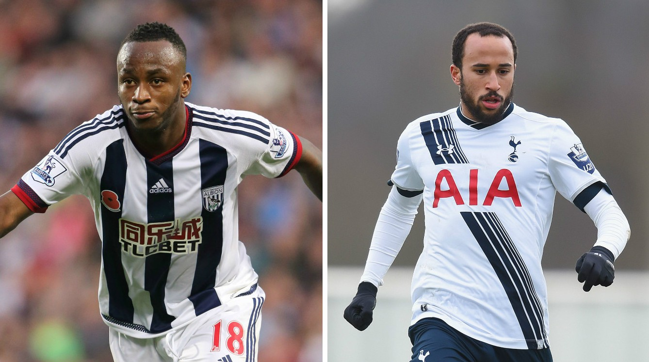 Report: Newcastle United work on Saido Berahino and Andros Townsend transfers