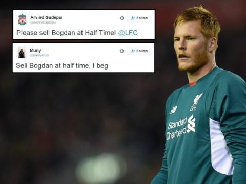 Liverpool fans order Jurgen Klopp to sell Adam Bogdan after howler v Exeter