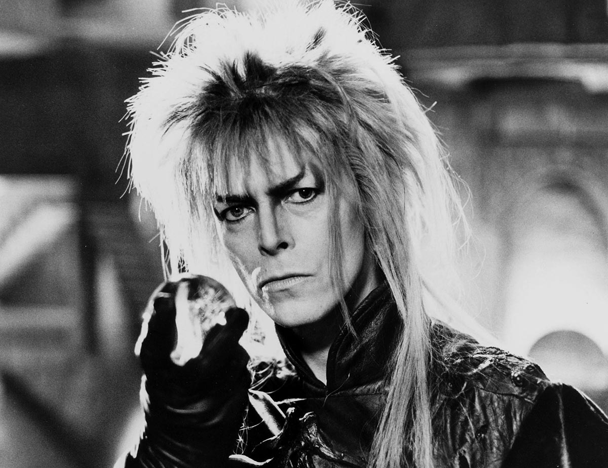 Apparently David Bowie auditioned to play Gandalf in Lord of the Rings – but got turned down