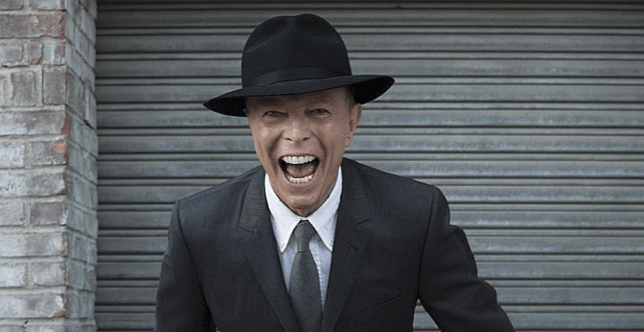 Bowie died in January this year