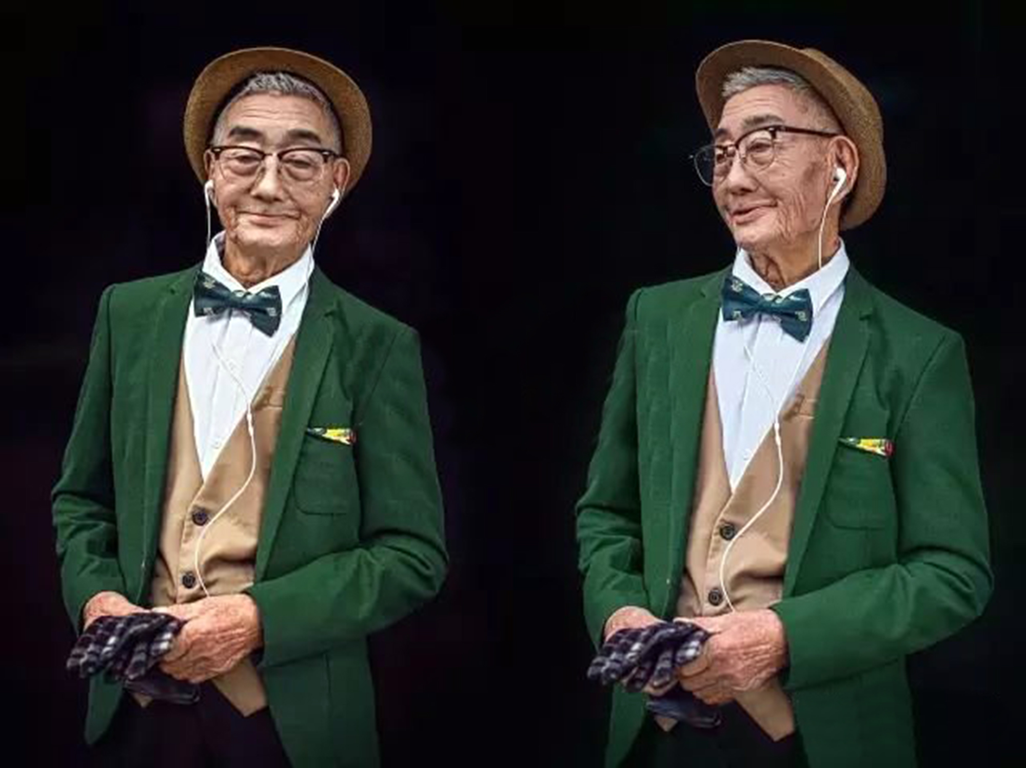 Hunting for new style inspiration? Look no further than this dapper 85-year-old man