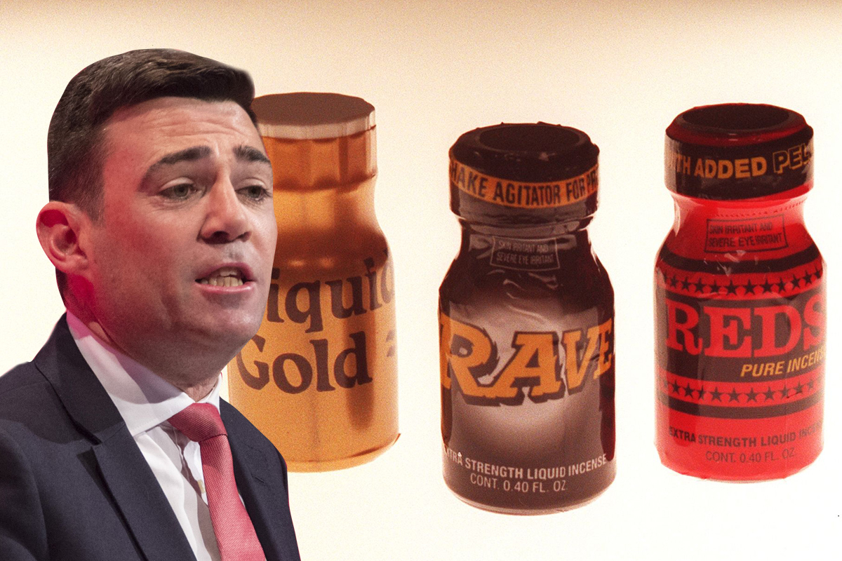 Poppers should stay legal, argues Labour MP Rex