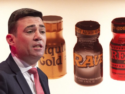 'Don't ban poppers', Andy Burnham urges Home Secretary Theresa May