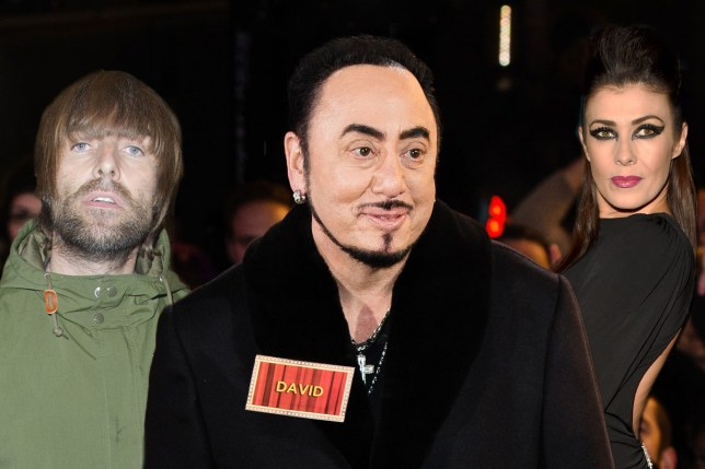 David Gest reveals he's best mates with Kym Marsh and Liam Gallagher Rex / Getty